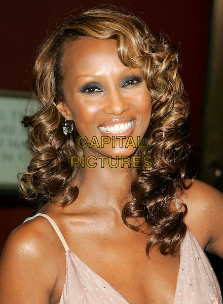 IMAN.Glamour Magazine 2006 Women Of The Year Awards held at Carnegie Hall, New York, New York, USA..October 30th, 2006.Ref: ADM/JL.headshot portrait.www.capitalpictures.com.sales@capitalpictures.com.©Jackson Lee/AdMedia/Capital Pictures.