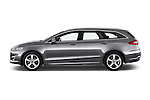 Car Driver side profile view of a 2015 Ford Mondeo Titanium 5 Door Wagon 2WD Side View
