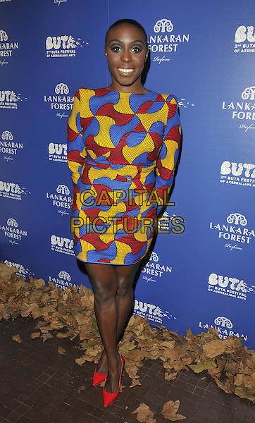 LONDON, ENGLAND - MARCH 20: Laura Mvula attends the Closing Party Of The Buta Festival &amp; Exclusive Preview Of The World's First Fragrance Inspired by Azerbaijan, Royal Academy of Arts, Burlington Gardens, on Friday March 20, 2015 in London, England, UK. <br /> CAP/CAN<br /> &copy;Can Nguyen/Capital Pictures