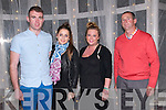 "The Cube: Attending ""The Cube ""  game show organized by Listowel Ladies GAA at the Listowel Arms Hotel on Saturday night last were Rory Hickey, Rebecca Stapleton, Nicola Horan & Brendan Stack."
