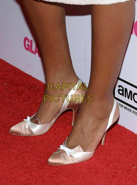 EVE .Miramax , Coors Light, AMC & Glamour Magazine present the 2005 Golden Globes After Party held Trader Vic's in the Beverly Hilton Hotel, Beverly Hills, California, USA, 16 January 2005..feet shoes satin bow.Ref: ADM.www.capitalpictures.com.sales@capitalpictures.com.©Jacqui Wong/AdMedia/Capital Pictures .