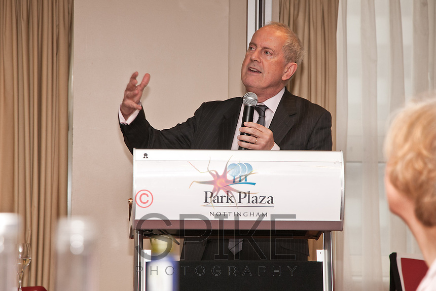 Keynote speaker Gyles Brandreth at Nottingham City Business Club