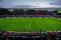 A general view of the Liberty stadium at kick off during the Sky Bet Championship match between Swansea City and Derby County at the Liberty Stadium in Swansea, Wales, UK. Saturday 08 February 2020