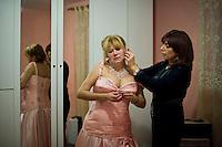 Marioara Dadiloveanu, si prepara per il matrimonio.
