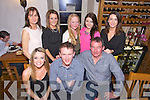 Barry Leahy, Ard Carrig Caherslee, celebrates his 30th Birthday with family at Bella Bia on Saturday. Pictured front l-r Stephanie Driscoll, Barry Leahy, Francie Driscoll, Back l-r Helena Driscoll, Tracey Ragett, Chloe Dinner, Rachel Driscoll, Rebecca Driscoll