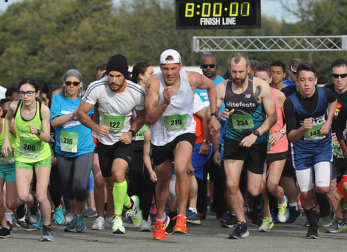 Long Island Marathon Weekend's inaugural 1-mile race gets underway at Eisenhower Park on Saturday, May 5, 2018.