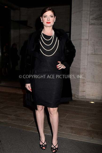 WWW.ACEPIXS.COM . . . . .  ....March 8, 2012...New York City........Debra Messing arriving at the 3rd Annual Women in the World Summit at David H. Koch Theater at Lincoln Center on March 8, 2012 in New York City....Please byline: NANCY RIVERA- ACEPIXS.COM.... *** ***..Ace Pictures, Inc:  ..Tel: 646 769 0430..e-mail: info@acepixs.com..web: http://www.acepixs.com