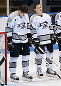 Mark Fayne (Providence 4), Ian O'Connor (Providence 26) - The Boston College Eagles and Providence Friars played to a 2-2 tie on Saturday, March 1, 2008 at Schneider Arena in Providence, Rhode Island.