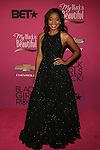 "Actress Keke Palmer Wearing a  Novis Gown Attends ""BLACK GIRLS ROCK!"" Honoring legendary singer Patti Labelle (Living Legend Award), hip-hop pioneer Queen Latifah (Rock Star Award), esteemed writer and producer Mara Brock Akil (Shot Caller Award), tennis icon and entrepreneur Venus Williams (Star Power Award celebrated by Chevy), community organizer Ameena Matthews (Community Activist Award), ground-breaking ballet dancer Misty Copeland (Young, Gifted & Black Award), and children's rights activist Marian Wright Edelman (Social Humanitarian Award) Hosted By Tracee Ellis Ross and Regina King Held at NJ PAC, NJ"