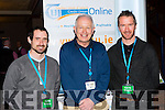Shane Stapleton Tipperary, Paudie Palmer Templenoe and Hugh murphy Kenmare both teaching in St Brogans Brandon