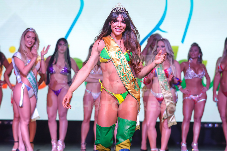 CIDADE DO MÉXICO, MÉXICO, 30.09.2019 - MISS-BUMBUM - Suzy Cortez vencedora do concurso Miss Bumbum World na ForoTotal Play na Cidade do México na capital mexicana nesta segunda-feira, 30. (Foto: William Volcov/Brazil Photo Press)