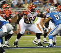 BOBBIE WILLIAMS, of the Cincinnati Bengals in action during the Bengals game against the Detroit Lion on August 12, 2011 at Ford Field in Detroit, Michigan. The Lions beat the Bengals 34-3.