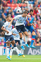 Crystal Palace Luka Milivojevic and Everton Morgan Schneiderlin during the Premier League match between Crystal Palace and Everton at Selhurst Park, London, England on 10 August 2019. Photo by Andrew Aleksiejczuk / PRiME Media Images.