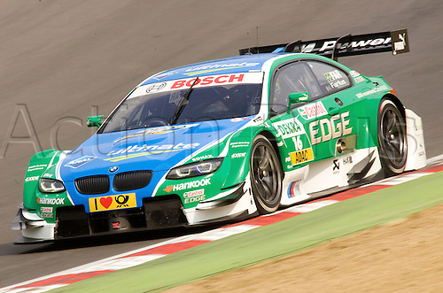 19.05.2012 Brands Hatch, Augusto Farfus (BR) driving the Castrol Edge BMW M3 in action during Saturday's Qualifying in the 2012 DTM Championship, Kent, England