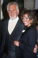 Kenny Rogers, wife Wanda Miller, 1998, Photo By John Barrett/PHOTOlink