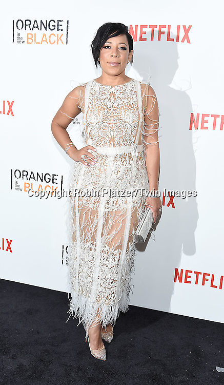 Selenis Leyva attends NexFlix's &quot;Orange is the New Black&quot; 4th Season New York Premiereon June 16, 2016 at the SVA Theatre in New York City, NY, USA.<br /> <br /> photo by Robin Platzer/Twin Images<br />  <br /> phone number 212-935-0770