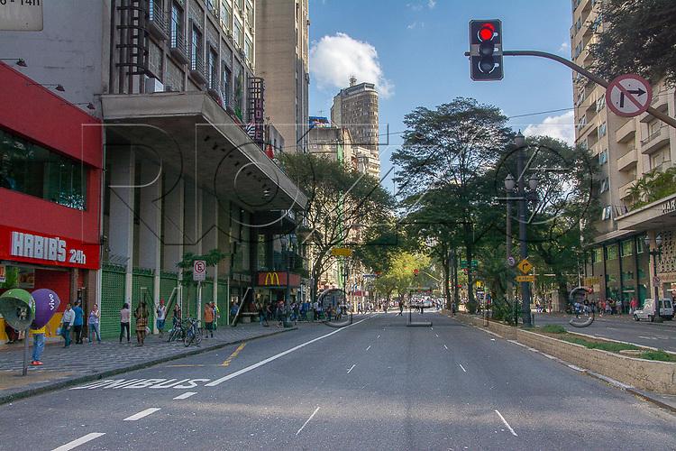Avenida Ipiranga com Edifício Itália ao fundo, São Paulo - SP, 07/2016.
