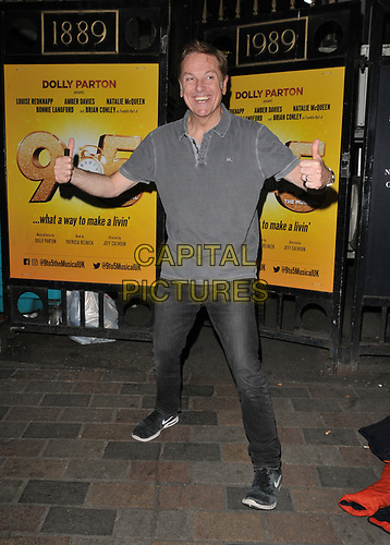 """Brian Conley at the """"9 To 5 The Musical"""" theatre cast stage door departures, Savoy Theatre, The Strand, London, England, UK, on Friday 31st May 2019.<br /> CAP/CAN<br /> ©CAN/Capital Pictures"""