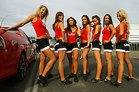 The Lion Red Rockettes during Day Three of the Hamilton 400 Aussie V8 Supercars Round Two at Frankton, Hamilton, New Zealand on Sunday, 19 April 2009. Photo: Dave Lintott / lintottphoto.co.nz