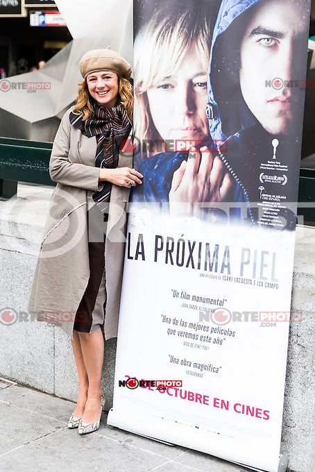 "Spainsh actress Emma suarez during the premier of the film ""La proxima piel"" at Renoir Princesa Cinema in Madrid, Spain. October 18, 2016. (ALTERPHOTOS/Rodrigo Jimenez)"