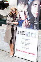 "Premier of ""La proxima piel"""