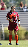 30 September 2007: Virginia Tech's Mary Elizabeth Newton. The Duke University Blue Devils defeated the Virginia Tech University Hokies 1-0 in sudden death overtime at Koskinen Stadium in Durham, North Carolina in an Atlantic Coast Conference NCAA Division I Women's Soccer game.