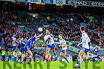 Bryan Sheehan Saint Marys in action against Robert Molloy Hollymount Carramore in the Intermediate All Ireland Football Final at Croke Park on Saturday.