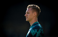 Goalkeeper Bernd Leno of Arsenal pre match during the Premier League match between Watford and Arsenal at Vicarage Road, Watford, England on 16 September 2019. Photo by Andy Rowland.