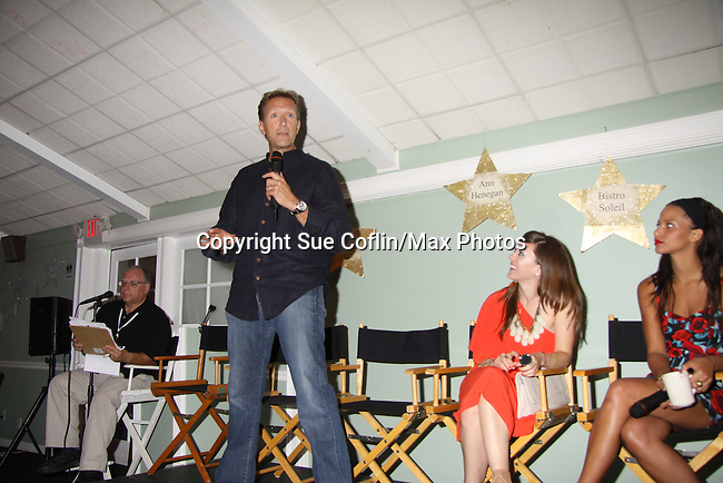 All My Children Christina Lind & Walt Willey & Denise Vasi & at A Night of Stars on May 14 at Bistro Soleil, Olde Marco Inn, Marco Island, Florida - SWFL Soapfest Charity Weekend May 14 & !5, 2011 benefitting several children's charities including the Eimerman Center providing educational & outfeach services for children for autism. see www.autismspeaks.org. (Photo by Sue Coflin/Max Photos)