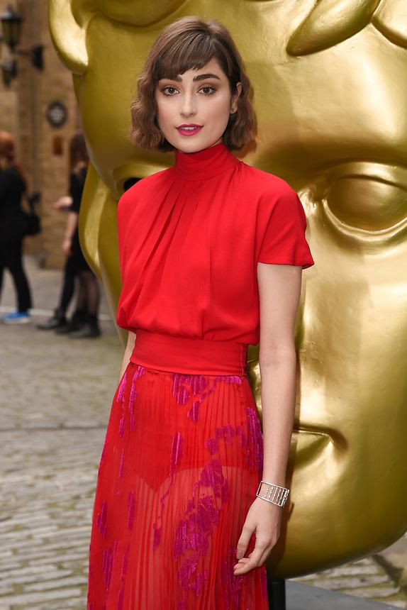 Elise Chappell<br /> arriving for the BAFTA Craft Awards 2018 at The Brewery, London<br /> <br /> ©Ash Knotek  D3398  22/04/2018