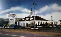 Diners:  Howard Johnson's, Harrisburg PA, 1939. View--remodeled. Now Chopsticks House.