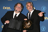LOS ANGELES - FEB 2:  Guillermo del Toro, Alfonso Cuaron at the 2019 Directors Guild of America Awards at the Dolby Ballroom on February 2, 2019 in Los Angeles, CA