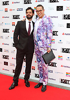 Charlie King and Bobby Norris at the British LGBT Awards at the London Marriott Hotel Grosvenor Square, Grosvenor Square, London on Friday 11 May 2018<br /> CAP/ROS<br /> &copy;ROS/Capital Pictures