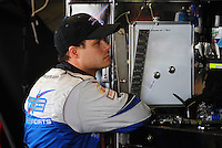 May 1, 2009; Richmond, VA, USA; NASCAR Sprint Cup Series driver David Gilliland during practice for the Russ Friedman 400 at the Richmond International Raceway. Mandatory Credit: Mark J. Rebilas-
