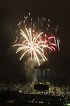 July 4th 2012 Fireworks at Dodger Stadium