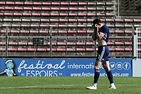Oliver Burke of Scotland U21's reacts after his penalty was saved in the shoot-out during Turkey Under-21 vs Scotland Under-21, Tournoi Maurice Revello Football at Stade Francis Turcan on 9th June 2018