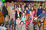 John O'Sullivan, Kilcummin and London pictured with family and friends as he celebrated his 60th birthday in Murphys Bar, Killarney on Saturday night...