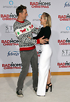LOS ANGELES, CA - OCTOBER 30: Dax Shepard and Kristen Bell at the Los Angeles Premiere of A Bad Mom's Christmas at the Regency Village Theater Westwood in Los Angeles, California on October 30, 2017. Credit: Faye Sadou/MediaPunch