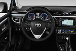 Car pictures of steering wheel view of a 2016 Toyota Corolla S Premium 4 Door Sedan Steering Wheel