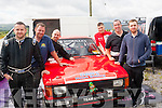 Mad for tar<br /> -------------<br /> Taking part in the KMC Rallysprint,at Ballybeggan Park,Tralee last Saturday were Pat Slattery,Martin O'Down,Paul Delaney,Padraig Foran,Graham Kelliher and Darren Young
