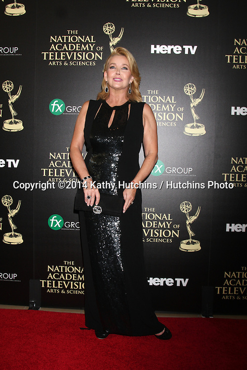 LOS ANGELES - JUN 22:  Melody Thomas Scott at the 2014 Daytime Emmy Awards Arrivals at the Beverly Hilton Hotel on June 22, 2014 in Beverly Hills, CA