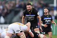 Elliott Stooke of Bath Rugby. Heineken Champions Cup match, between Bath Rugby and Wasps on January 12, 2019 at the Recreation Ground in Bath, England. Photo by: Patrick Khachfe / Onside Images