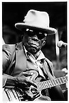 John Lee Hooker, Santa Cruz Blues Festival, 1996