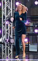 Presenters, Judges, Professionals and Celebrities are introduced on stage at the Strictly Come Dancing 2019 Launch at BBC Broadcasting House, Wood Lane, London on Bank Holiday Monday August 26th 2019<br /> <br /> Photo by Keith Mayhew