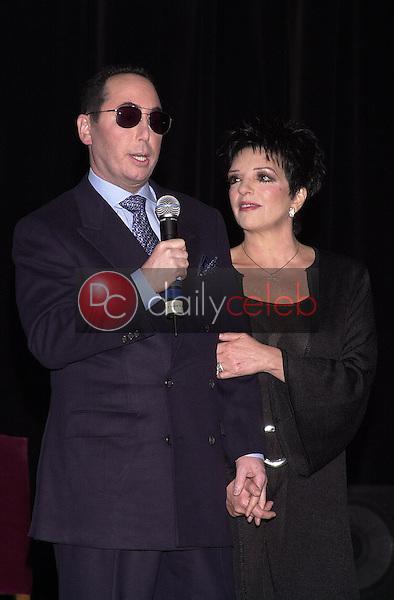 David Guest and Liza Minnelli