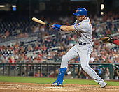New York Mets left fielder Jeff McNeil (6) singles in the ninth inning against the Washington Nationals at Nationals Park in Washington, D.C. on Tuesday, September 3, 2019.  The Nationals won the game 11-10.<br /> Credit: Ron Sachs / CNP<br /> (RESTRICTION: NO New York or New Jersey Newspapers or newspapers within a 75 mile radius of New York City)