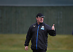 Newcastle United's manager Rafael Benitez during the training session at Darsley Park Training complex. Photo credit should read: Scott Heppell/Sportimage