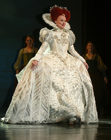 Linda Balgord on stage during the curtain call following the Opening Night performance of THE PIRATE QUEEN at the Hilton Theatre in New York City. April 5, 2007 © Joseph Marzullo / MediaPunch