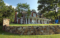 The front exterior of the home located at 271 Blue Springs Lane Charlottesville, VA, United States. Photo/Andrew Shurtleff
