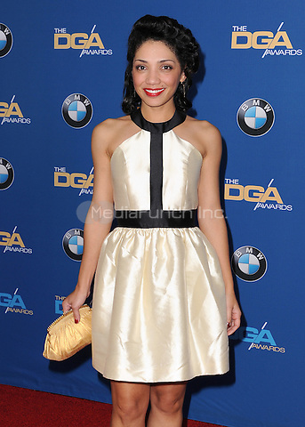 CENTURY CITY, CA - FEBRUARY 7:  Jaskia Nicole at the 67th Annual DGA Awards at the Hyatt Regency Century Plaza on February 7, 2015 in Century City, California. Credit: PGSK/MediaPunch
